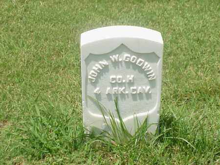 GODWIN (VETERAN UNION), JOHN W - Pulaski County, Arkansas | JOHN W GODWIN (VETERAN UNION) - Arkansas Gravestone Photos