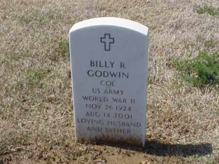 GODWIN (VETERAN WWII), BILLY R - Pulaski County, Arkansas | BILLY R GODWIN (VETERAN WWII) - Arkansas Gravestone Photos