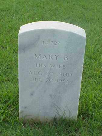 GOINS, MARY B - Pulaski County, Arkansas | MARY B GOINS - Arkansas Gravestone Photos