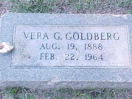 GOLDBERG, VERA G - Pulaski County, Arkansas   VERA G GOLDBERG - Arkansas Gravestone Photos