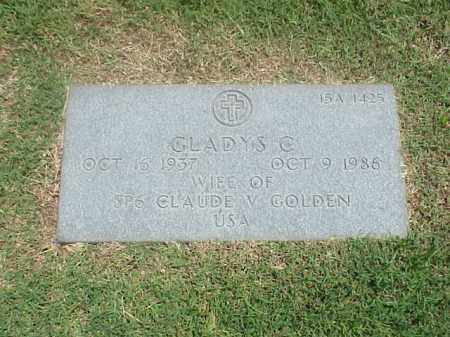 GOLDEN, GLADYS C - Pulaski County, Arkansas | GLADYS C GOLDEN - Arkansas Gravestone Photos