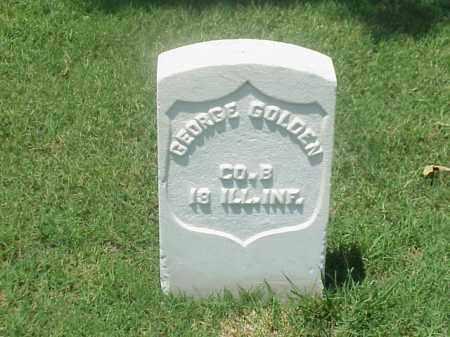 GOLDEN (VETERAN UNION), GEORGE - Pulaski County, Arkansas | GEORGE GOLDEN (VETERAN UNION) - Arkansas Gravestone Photos