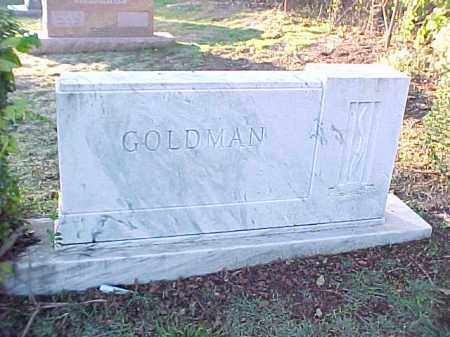GOLDMAN FAMILY STONE,  - Pulaski County, Arkansas |  GOLDMAN FAMILY STONE - Arkansas Gravestone Photos