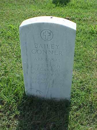 GONNER (VETERAN WWI), BAILEY - Pulaski County, Arkansas | BAILEY GONNER (VETERAN WWI) - Arkansas Gravestone Photos
