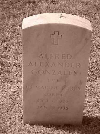 GONZALES (VETERAN KOR), ALFRED ALEXANDER - Pulaski County, Arkansas | ALFRED ALEXANDER GONZALES (VETERAN KOR) - Arkansas Gravestone Photos