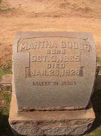 GOOCH, MARTHA - Pulaski County, Arkansas | MARTHA GOOCH - Arkansas Gravestone Photos