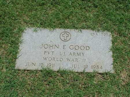 GOOD (VETERAN WWII), JOHN E - Pulaski County, Arkansas | JOHN E GOOD (VETERAN WWII) - Arkansas Gravestone Photos