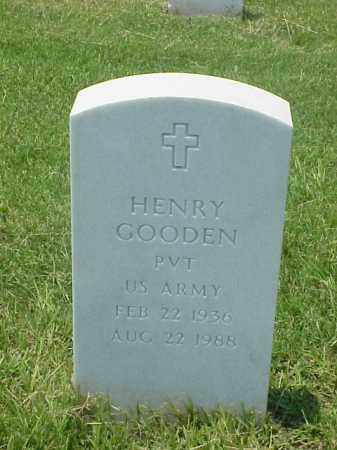 GOODEN (VETERAN), HENRY - Pulaski County, Arkansas | HENRY GOODEN (VETERAN) - Arkansas Gravestone Photos