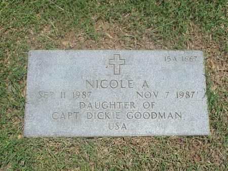 GOODMAN, NICOLE A - Pulaski County, Arkansas   NICOLE A GOODMAN - Arkansas Gravestone Photos