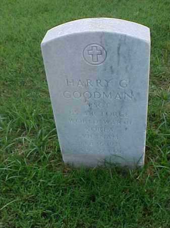GOODMAN (VETERAN 3 WARS), HARRY G - Pulaski County, Arkansas | HARRY G GOODMAN (VETERAN 3 WARS) - Arkansas Gravestone Photos