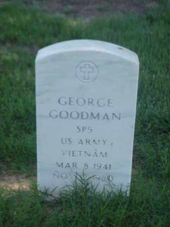 GOODMAN (VETERAN VIET), GEORGE - Pulaski County, Arkansas | GEORGE GOODMAN (VETERAN VIET) - Arkansas Gravestone Photos