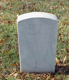 GOODNIGHT, MARY A. - Pulaski County, Arkansas | MARY A. GOODNIGHT - Arkansas Gravestone Photos
