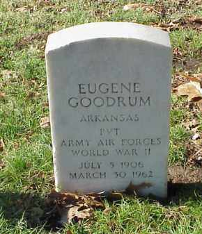 GOODRUM  (VETERAN WWII), EUGENE - Pulaski County, Arkansas | EUGENE GOODRUM  (VETERAN WWII) - Arkansas Gravestone Photos