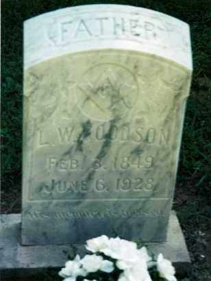 GOODSON, LINTFORD WILLIS - Pulaski County, Arkansas | LINTFORD WILLIS GOODSON - Arkansas Gravestone Photos