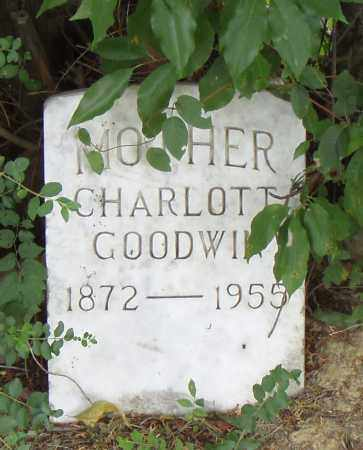 GOODWIN, CHARLOTT - Pulaski County, Arkansas | CHARLOTT GOODWIN - Arkansas Gravestone Photos