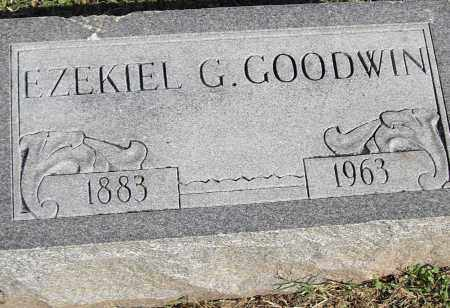GOODWIN, EZEKIEL G - Pulaski County, Arkansas | EZEKIEL G GOODWIN - Arkansas Gravestone Photos