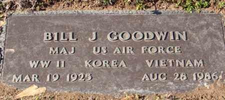 GOODWIN (VETERAN 3 WARS), BILL J - Pulaski County, Arkansas | BILL J GOODWIN (VETERAN 3 WARS) - Arkansas Gravestone Photos