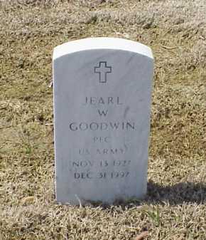GOODWIN (VETERAN), JEARL W - Pulaski County, Arkansas | JEARL W GOODWIN (VETERAN) - Arkansas Gravestone Photos