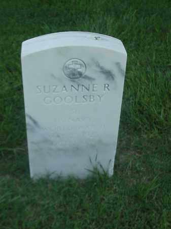 GOOLSBY (VETERAN WWII), SUZANNE R - Pulaski County, Arkansas | SUZANNE R GOOLSBY (VETERAN WWII) - Arkansas Gravestone Photos