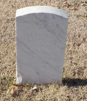 GORDON  (VETERAN WWI), ALEXANDER - Pulaski County, Arkansas | ALEXANDER GORDON  (VETERAN WWI) - Arkansas Gravestone Photos