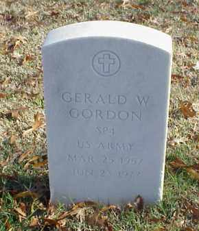 GORDON  (VETERAN), GERALD W - Pulaski County, Arkansas | GERALD W GORDON  (VETERAN) - Arkansas Gravestone Photos
