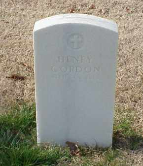 GORDON  (VETERAN UNION), HENRY - Pulaski County, Arkansas | HENRY GORDON  (VETERAN UNION) - Arkansas Gravestone Photos