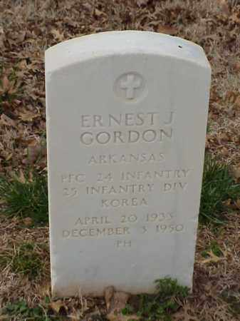 GORDON  (VETERAN KOR), ERNEST JAMES - Pulaski County, Arkansas | ERNEST JAMES GORDON  (VETERAN KOR) - Arkansas Gravestone Photos