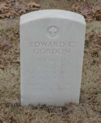 GORDON  (VETERAN WWII), EDWARD C - Pulaski County, Arkansas | EDWARD C GORDON  (VETERAN WWII) - Arkansas Gravestone Photos
