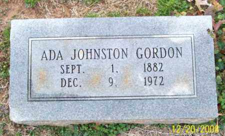 GORDON, ADA JOHNSTON - Pulaski County, Arkansas | ADA JOHNSTON GORDON - Arkansas Gravestone Photos