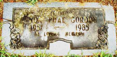 GORDON, LYNDA PHAE - Pulaski County, Arkansas | LYNDA PHAE GORDON - Arkansas Gravestone Photos
