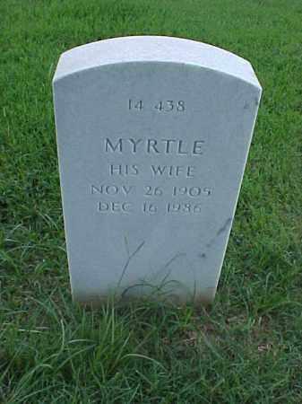 GORDON, MYRTLE - Pulaski County, Arkansas | MYRTLE GORDON - Arkansas Gravestone Photos