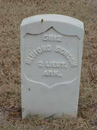 GORDON (VETERAN UNION), BLUFORD - Pulaski County, Arkansas | BLUFORD GORDON (VETERAN UNION) - Arkansas Gravestone Photos