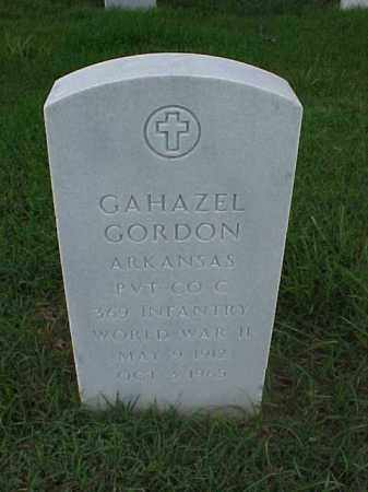 GORDON (VETERAN WWII), GAHAZEL - Pulaski County, Arkansas | GAHAZEL GORDON (VETERAN WWII) - Arkansas Gravestone Photos