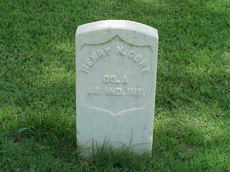 GORE (VETERAN UNION), HENRY N - Pulaski County, Arkansas | HENRY N GORE (VETERAN UNION) - Arkansas Gravestone Photos