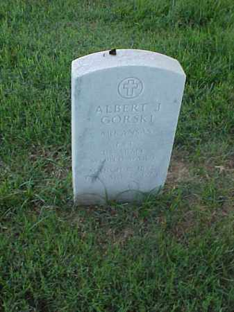 GORSKI (VETERAN WWI), ALBERT J - Pulaski County, Arkansas | ALBERT J GORSKI (VETERAN WWI) - Arkansas Gravestone Photos