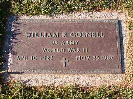 GOSNELL (VETERAN WWII), WILLIAM R - Pulaski County, Arkansas | WILLIAM R GOSNELL (VETERAN WWII) - Arkansas Gravestone Photos