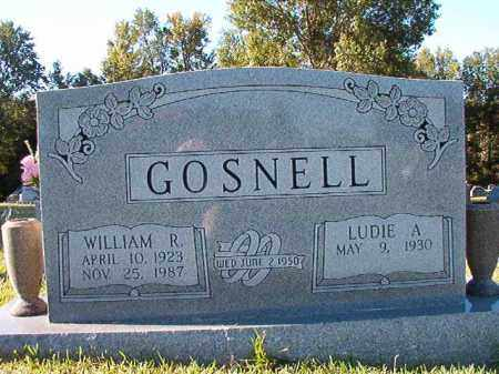 GOSNELL, WILLIAM R - Pulaski County, Arkansas | WILLIAM R GOSNELL - Arkansas Gravestone Photos