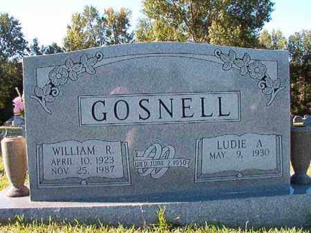 GOSNELL, WILLIAM R - Pulaski County, Arkansas | WILLIAM R GOSNELL - Arkansas Gravestone Photos