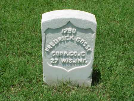 GOSSE (VETERAN UNION), FREDRICK - Pulaski County, Arkansas | FREDRICK GOSSE (VETERAN UNION) - Arkansas Gravestone Photos