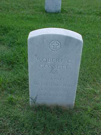 GOSSETT (VETERAN WWII), ROBERT C - Pulaski County, Arkansas | ROBERT C GOSSETT (VETERAN WWII) - Arkansas Gravestone Photos