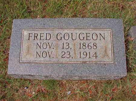 GOUGEON, FRED - Pulaski County, Arkansas | FRED GOUGEON - Arkansas Gravestone Photos