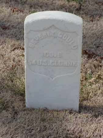 GOULD  (VETERAN UNION), BEVERLY - Pulaski County, Arkansas | BEVERLY GOULD  (VETERAN UNION) - Arkansas Gravestone Photos