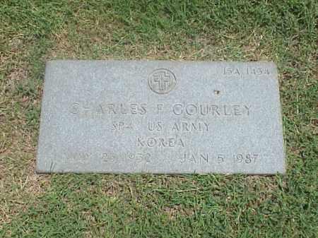 GOURLEY (VETERAN KOR), CHARLES F - Pulaski County, Arkansas | CHARLES F GOURLEY (VETERAN KOR) - Arkansas Gravestone Photos