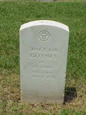 GOYNES (VETERAN WWII), SINCLAIR - Pulaski County, Arkansas | SINCLAIR GOYNES (VETERAN WWII) - Arkansas Gravestone Photos