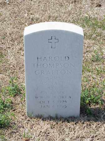 GRAFTON (VETERAN 2 WARS), HAROLD THOMPSON - Pulaski County, Arkansas | HAROLD THOMPSON GRAFTON (VETERAN 2 WARS) - Arkansas Gravestone Photos