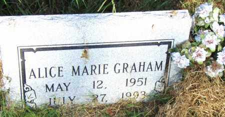 GRAHAM, ALICE MARIE - Pulaski County, Arkansas | ALICE MARIE GRAHAM - Arkansas Gravestone Photos