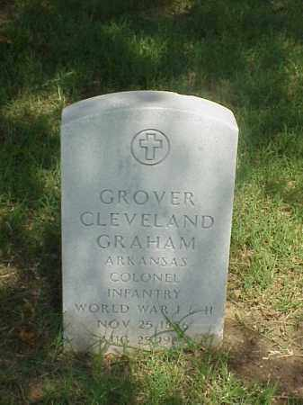 GRAHAM (VETERAN 2 WARS), GROVER CLEVELAND - Pulaski County, Arkansas | GROVER CLEVELAND GRAHAM (VETERAN 2 WARS) - Arkansas Gravestone Photos