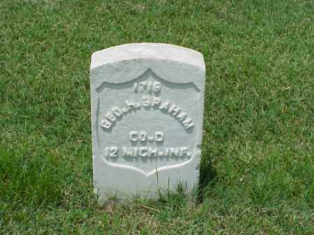 GRAHAM (VETERAN UNION), GEORGE H - Pulaski County, Arkansas | GEORGE H GRAHAM (VETERAN UNION) - Arkansas Gravestone Photos