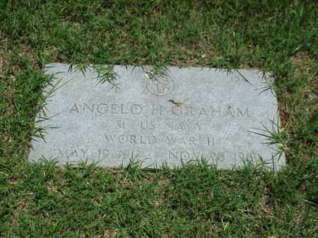 GRAHAM (VETERAN WWII), ANGELO H - Pulaski County, Arkansas | ANGELO H GRAHAM (VETERAN WWII) - Arkansas Gravestone Photos