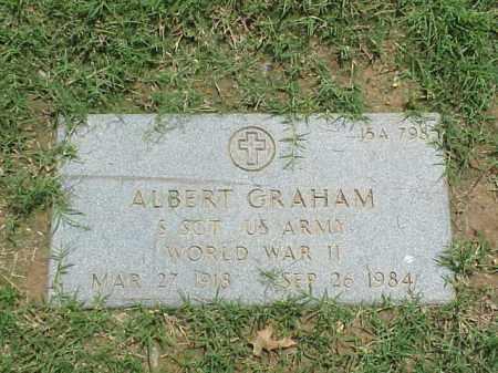 GRAHAM (VETERAN WWII), ALBERT - Pulaski County, Arkansas | ALBERT GRAHAM (VETERAN WWII) - Arkansas Gravestone Photos